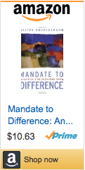 Mandate to Difference by Walter Brueggemann