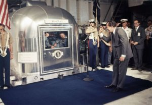Apollo 11 astronauts quarantined