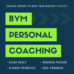 Better Youth Ministry Personal Coaching for Youth Pastors