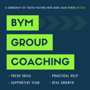 Group Coaching for Youth Pastors