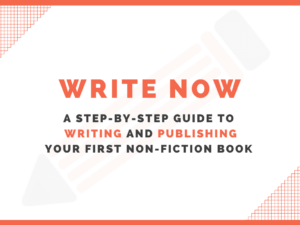 Write Now course cover