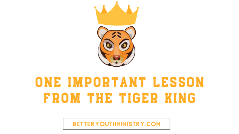 One Important Lesson from the Tiger King