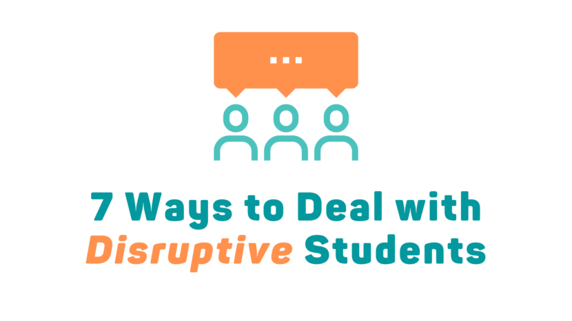 7 Ways to Deal with Disruptive Students in Your Ministry